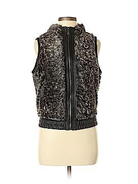 YMI Faux Fur Vest Size M
