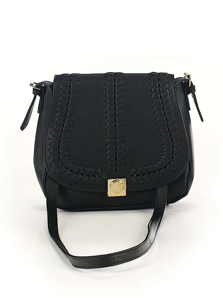 CXL by Christian Lacroix Solid Black Shoulder Bag One Size - 69% off ... 556e2cfa6f8d0