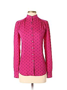 Ann Taylor LOFT Long Sleeve Button-Down Shirt Size XXS