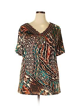 Avenue Short Sleeve Top Size 28 (Plus)