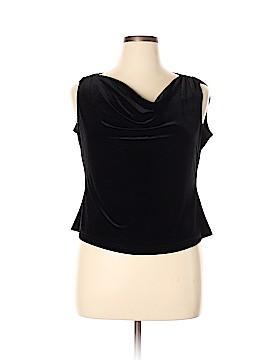 R&K Evening Sleeveless Blouse Size 18 (Plus)