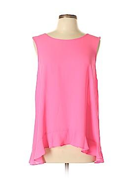 CeCe Sleeveless Blouse Size L