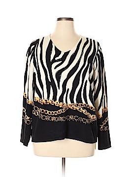 Pierri Pullover Sweater Size 3X (Plus)
