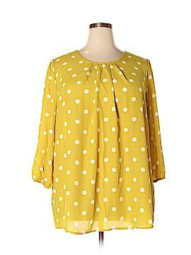 Oddi 3/4 Sleeve Blouse Size 3X (Plus)