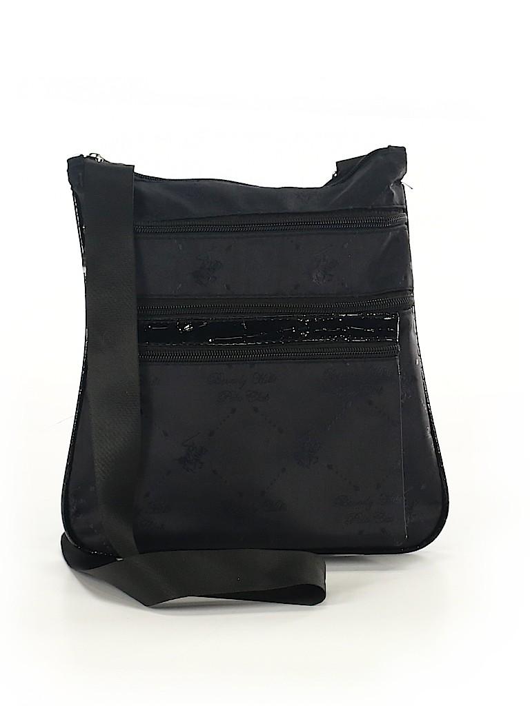 ddfad19e51ea Beverly Hills Polo Club Solid Black Crossbody Bag One Size - 63% off ...
