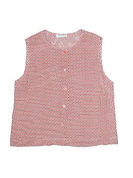 Equipment Short Sleeve Blouse Size M