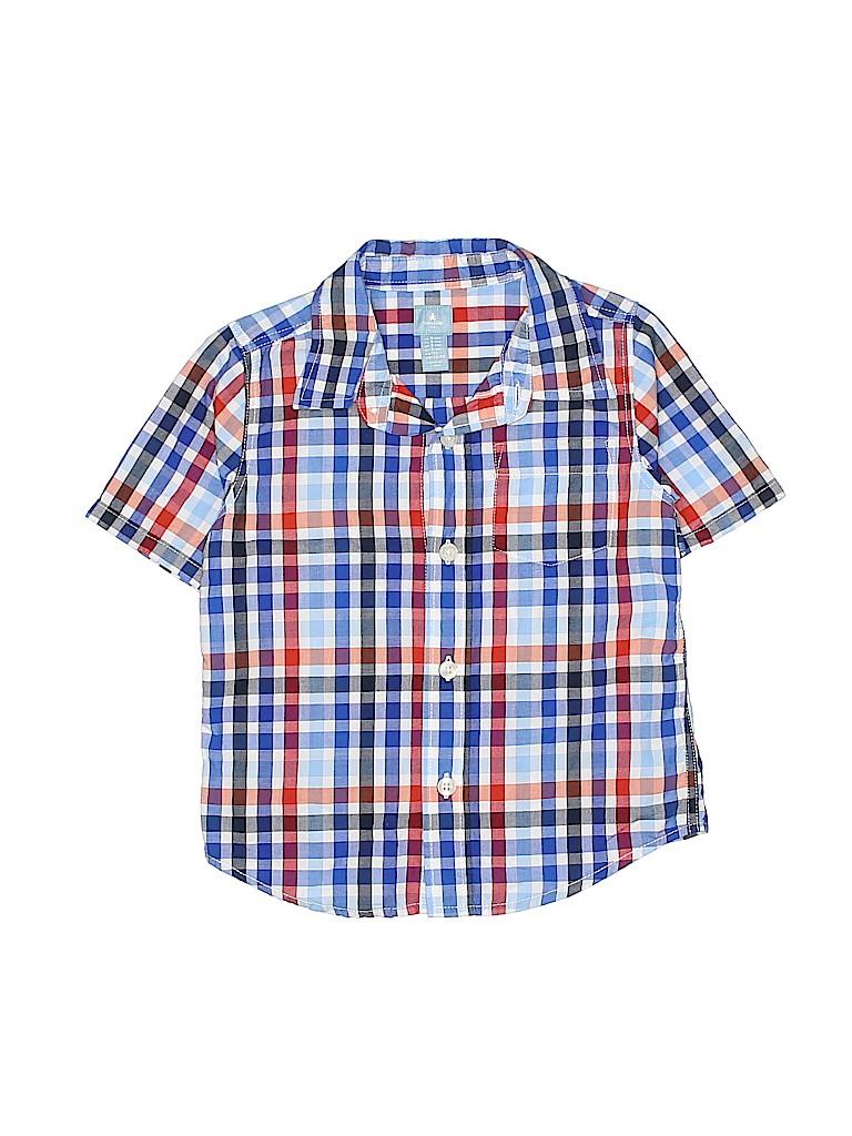 Baby Boy Short Sleeve Dress Shirt Bcd Tofu House