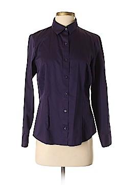 Coldwater Creek Long Sleeve Button-Down Shirt Size S (Petite)