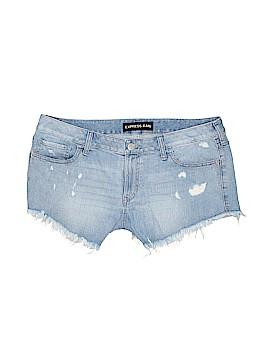 Express Jeans Denim Shorts Size 14