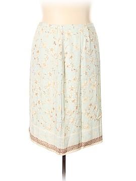 Coldwater Creek Silk Skirt Size XXL