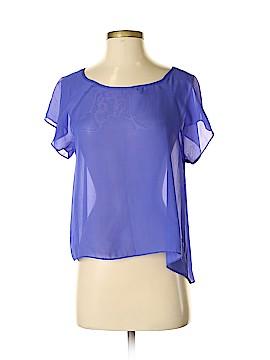 Soprano Short Sleeve Blouse Size XS