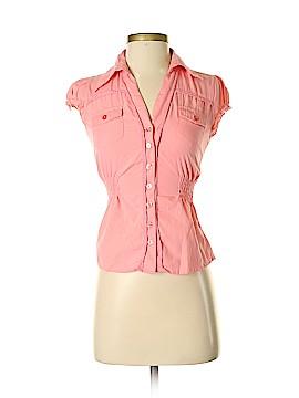 MAX Short Sleeve Button-Down Shirt Size XS