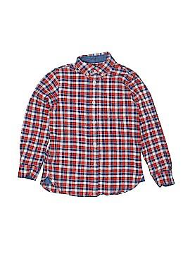 E. Land Long Sleeve Button-Down Shirt Size 6