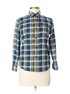 Volcom Long Sleeve Button-Down Shirt Size M