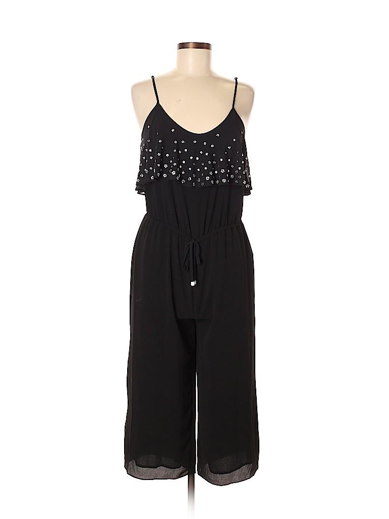 ef4977102706 MICHAEL Michael Kors Solid Black Jumpsuit Size M (Petite) - 73% off ...