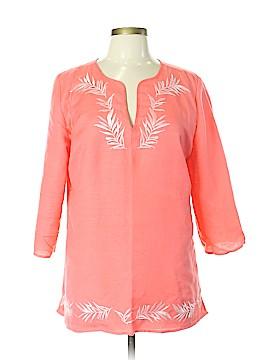 Jaclyn Smith Long Sleeve Blouse Size L