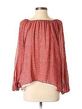 Rachel Zoe Long Sleeve Silk Top Size 4
