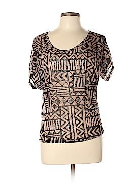 Love J Short Sleeve Top Size L