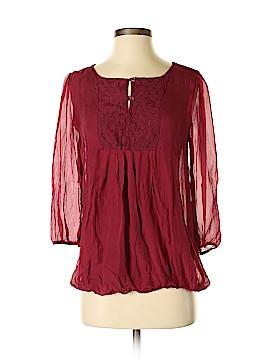 Prontomoda Giusy 3/4 Sleeve Blouse Size XS