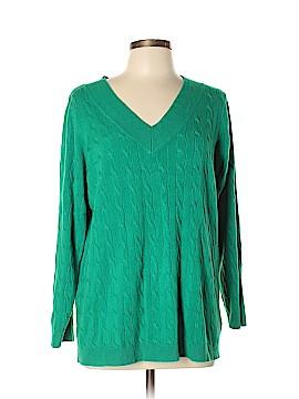 Denim 24/7 Pullover Sweater Size L