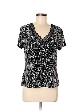 Studio Donatella Short Sleeve Blouse Size M