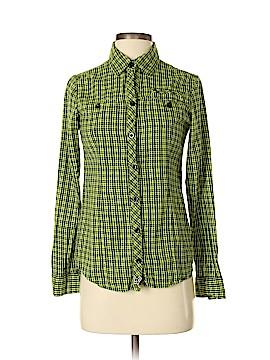 Fox Long Sleeve Button-Down Shirt Size S