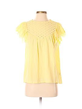 Impressions Short Sleeve Blouse Size S