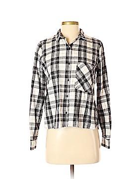 Trafaluc by Zara Long Sleeve Button-Down Shirt Size S