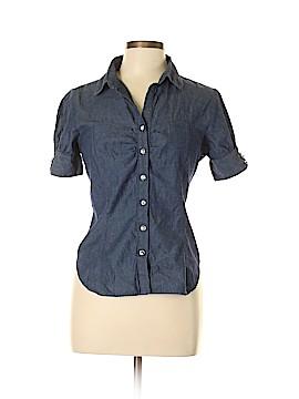 Piper & Blue Short Sleeve Button-Down Shirt Size L