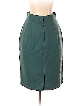 Sisley Silk Skirt 26 Waist