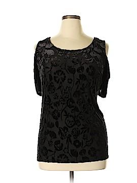 Sunny Leigh Short Sleeve Top Size 3X (Plus)