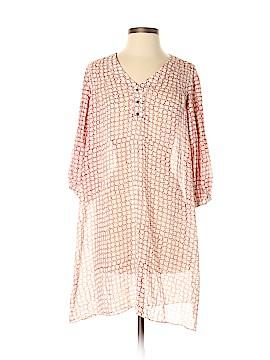 Club Monaco 3/4 Sleeve Silk Top Size 2