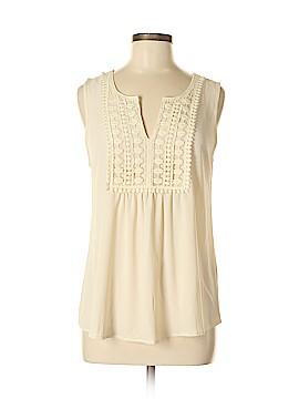 E&M Collection Sleeveless Blouse Size M