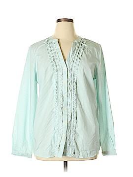 Orvis Long Sleeve Button-Down Shirt Size 18 (Plus)