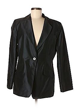Linda Allard Ellen Tracy Silk Blazer Size 12
