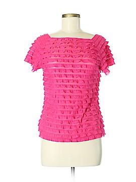 Allison Brittney Short Sleeve Blouse Size M
