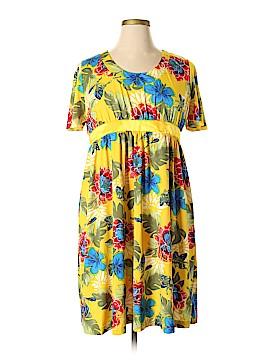 Roaman's Casual Dress Size 14 (M)