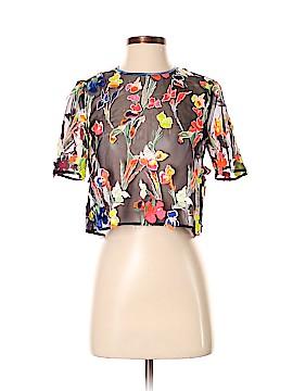 Jason Wu Short Sleeve Silk Top Size 0