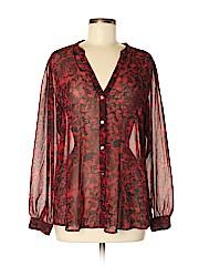 Ann Taylor Women Long Sleeve Blouse Size M
