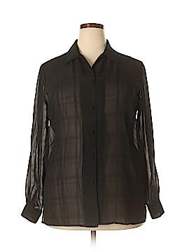 Liz Baker Long Sleeve Blouse Size 16W