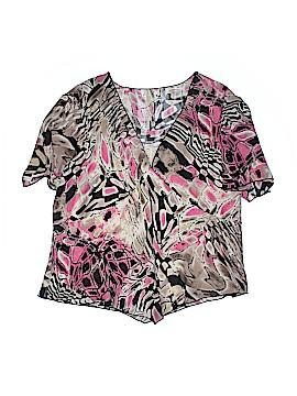 Dress-U By Sharon Short Sleeve Blouse Size 3X (Plus)