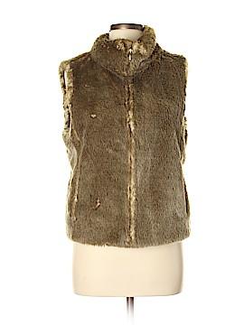 Ann Taylor Faux Fur Vest Size 8