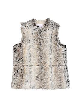 Monsoon Faux Fur Vest Size S (Kids)