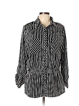 Elementz 3/4 Sleeve Blouse Size L
