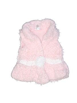 Little Lass Faux Fur Vest Size 4T