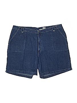 St. John's Bay Denim Shorts Size 24W (Plus)