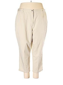 L.L.Bean Khakis Size 24 (Plus)