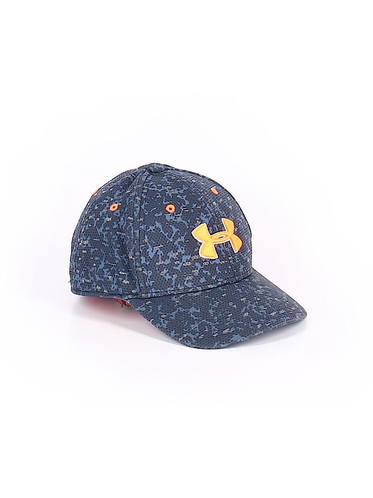 Under Armour Print Dark Blue Baseball Cap Size Small kids - Medium ... d44637566b1
