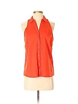Laundry by Shelli Segal Sleeveless Button-Down Shirt Size 4