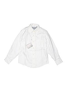 Hickey Freeman Long Sleeve Button-Down Shirt Size 6